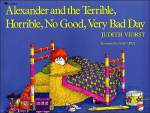 Alexander and the Terrible, Horrible, No Good, Very Bad Day –cover