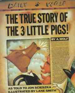 True Story of the 3 Little Pigs - cover