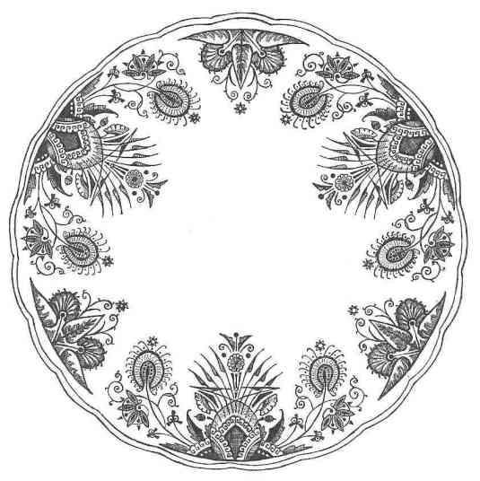 owl_service_plate_b&w