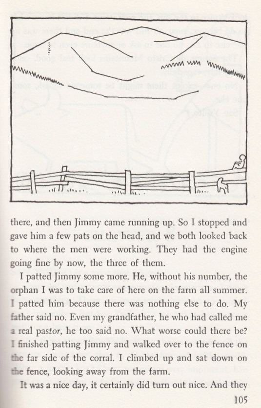 """Illustration by Jean Charlot; from """"...And Now Miguel"""" by Joseph Krumgold"""